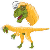 Oviraptordinosaurus Royalty-vrije Stock Afbeeldingen