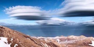 Ovni chmury Obrazy Royalty Free