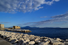 Ovo Castel in Naples 2 Royalty Free Stock Photography