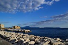 Ovo Castel w Naples 2 Fotografia Royalty Free
