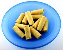 Ovo chinês Rolls da padaria Fotos de Stock Royalty Free
