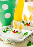 Ovo cozido Bunny Rabbit Imagem de Stock