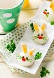 Ovo cozido Bunny Rabbit Imagem de Stock Royalty Free
