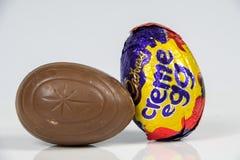 Ovo da nata do ` s de Cadbury imagens de stock
