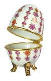 Ovo da porcelana Imagem de Stock Royalty Free