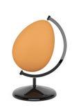 Ovo de Brown como o globo Fotografia de Stock