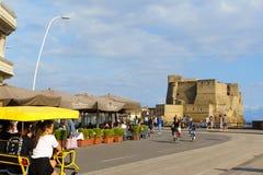 ` Ovo de Castel Dell à Naples, Italie Images stock