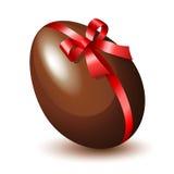 Ovo de chocolate ilustração royalty free