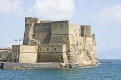 Ovo de della de château à Naples Photo libre de droits