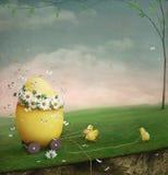 Ovo de Easter Imagem de Stock