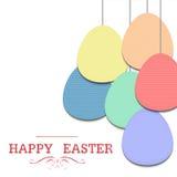 Ovo de Easter ilustração stock
