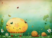 Ovo de Easter ilustração royalty free