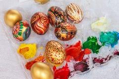 Ovo de Easter colorido Imagem de Stock Royalty Free