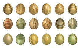 Ovo de Easter com tira Fotografia de Stock Royalty Free