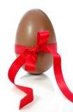 Ovo de easter do chocolate Imagem de Stock