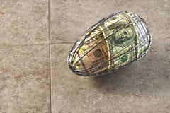 Ovo de ninho estruturado forte financeiro Imagens de Stock Royalty Free