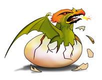 Ovo do dragão Fotografia de Stock Royalty Free