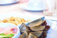 Ovo do século, alimento tailandês popular Fotografia de Stock Royalty Free
