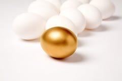 Ovo dourado Foto de Stock