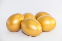 Ovo dourado Imagens de Stock Royalty Free