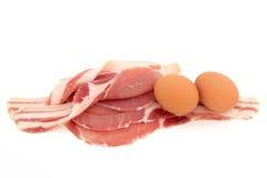 Ovo e bacon foto de stock royalty free