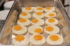 Ovo frito para a refeição do café da manhã imagens de stock royalty free