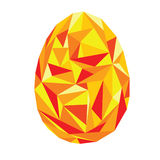 Ovo geométrico na moda colorido ilustração royalty free