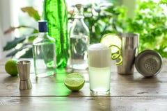 Ovo Gin Fizz Cocktail fotografia de stock royalty free