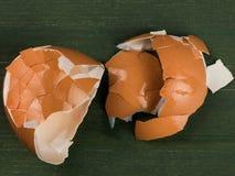 Ovo vazio quebrado Shell das galinhas Foto de Stock Royalty Free