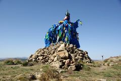 ovoo Монголии Стоковое Изображение RF