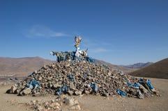 Ovoo em Mongolia Imagens de Stock Royalty Free