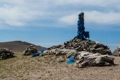 Ovoo mongol Fotografía de archivo libre de regalías