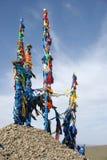 Ovoo in Mongolei Stockfotos