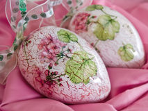 Ovos antigos da flor fotografia de stock