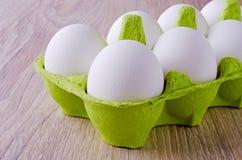 Ovos brancos Foto de Stock Royalty Free