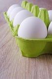Ovos brancos Imagens de Stock