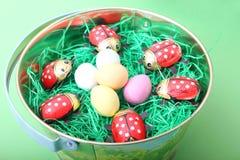 Ovos coloridos Imagem de Stock Royalty Free