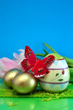 Ovos coloridos Imagens de Stock Royalty Free
