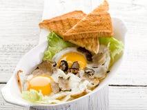 Ovos com trufa foto de stock royalty free