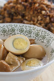 Ovos cozidos Imagens de Stock Royalty Free
