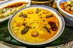 Ovos cozinhados chinês foto de stock royalty free