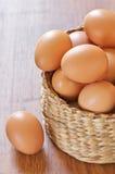 Ovos da galinha de Brown Imagem de Stock