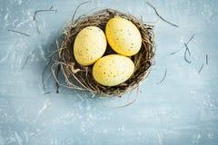 Ovos da páscoa Fotos de Stock