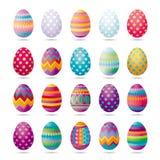 Ovos da páscoa ilustração stock