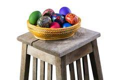 Ovos da páscoa caseiros Fotografia de Stock