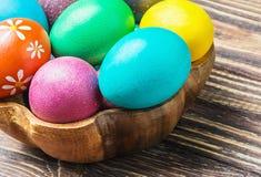 Ovos da páscoa coloridos Foto de Stock