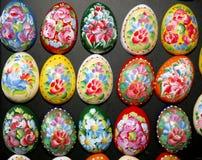 Ovos da páscoa como ímãs do refrigerador Fotos de Stock Royalty Free