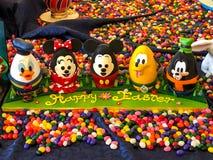 Ovos da páscoa de Disney Imagens de Stock