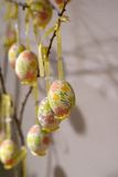 Ovos da páscoa decorados em Salzburg Fotos de Stock
