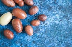 Ovos da páscoa do chocolate Imagens de Stock